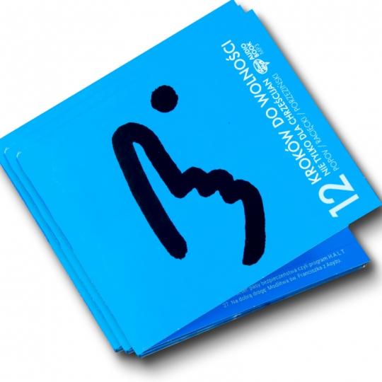 Pakiet: 12 kroków do wolności + Film DVD (KROK I)